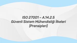 ISO 27001 – A.14